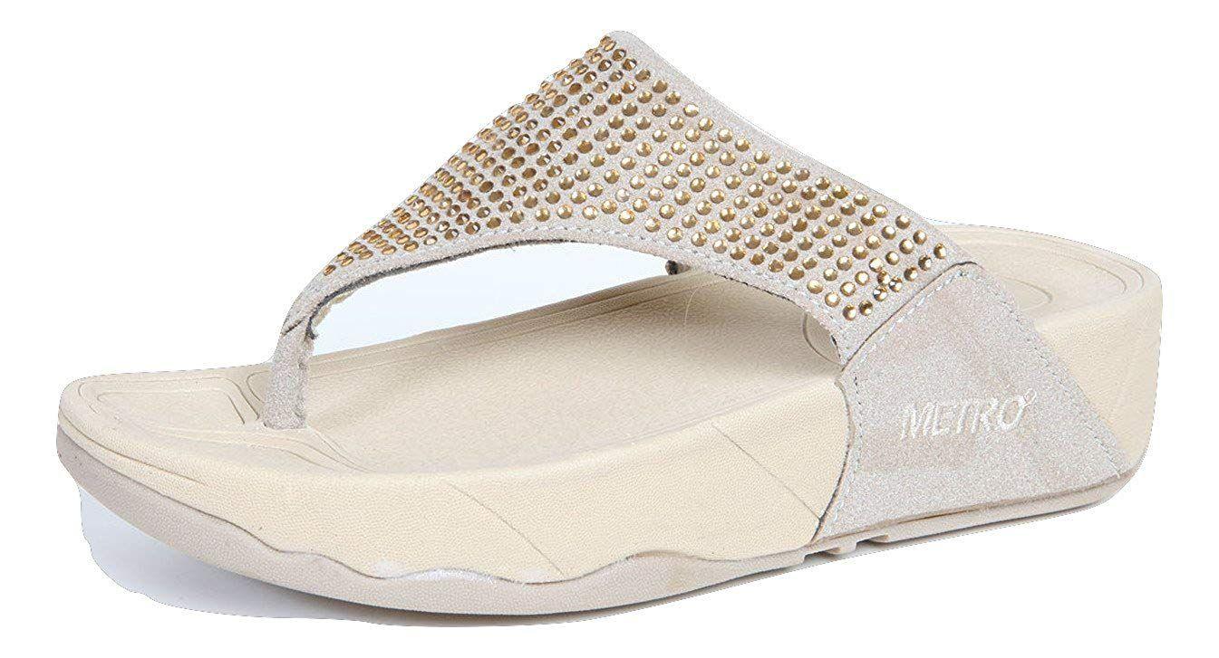 b9c4f4370f64b METRO Girl s Lady s Woman s Fashion Thong Wedge flip Flops for Women      Hope you