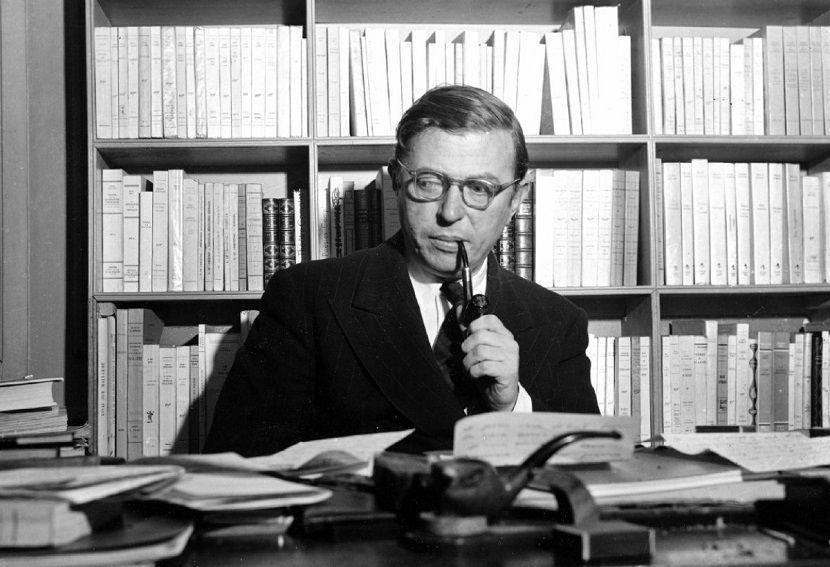 Tal día como hoy, hace 36 años, fallecía Jean-Paul Sartre #jeanpaulsartre