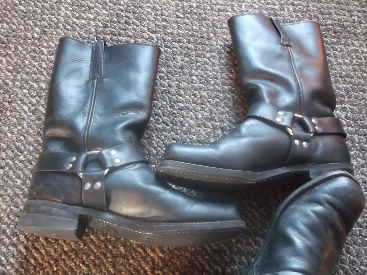 5b1b138c38a749 Vintage Frye Harness boots Motorcycle boots Campus Engineer Biker by  Bootsandsneaks on Etsy