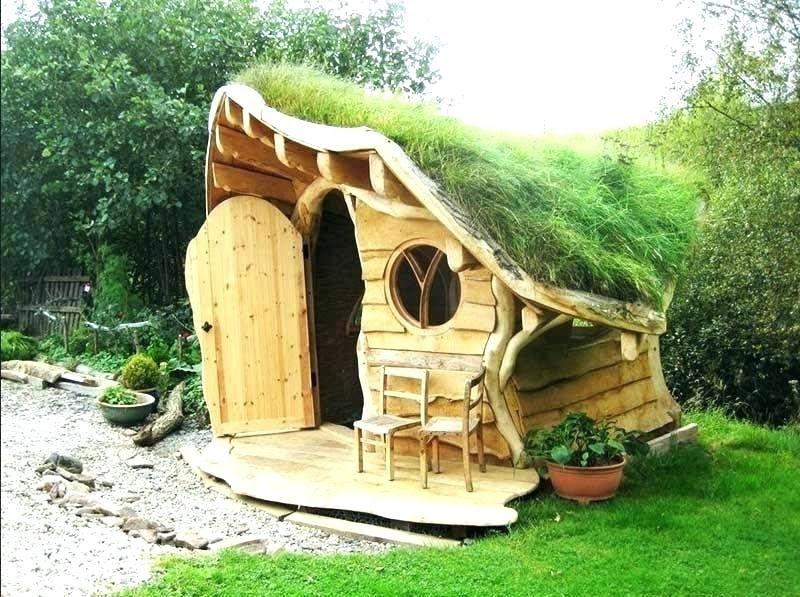 Gartenhaus Kinder Selber Bauen Garten Spielhaus Holz