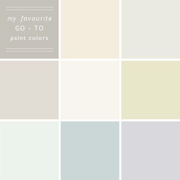 Go For Neutral Paint Colors Wandfarbe Farbt Ne