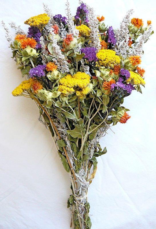 Dried Flower Bouquet Bunch Ideas Para El Hogar Pinterest