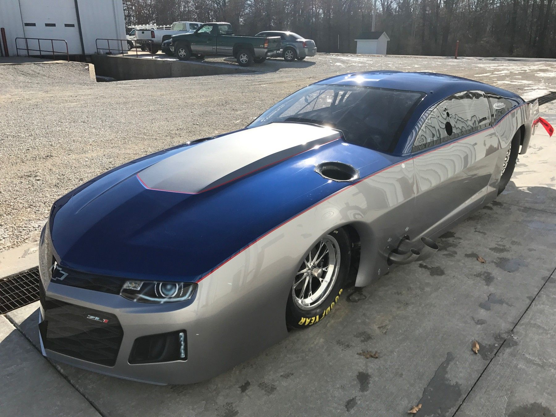 Rob Cox's new Pro Modified Camaro built following the Jerry