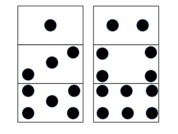 Number cards for K and 1st.  Match dots, cards and words, play memory and so much more with this ready to go math center!