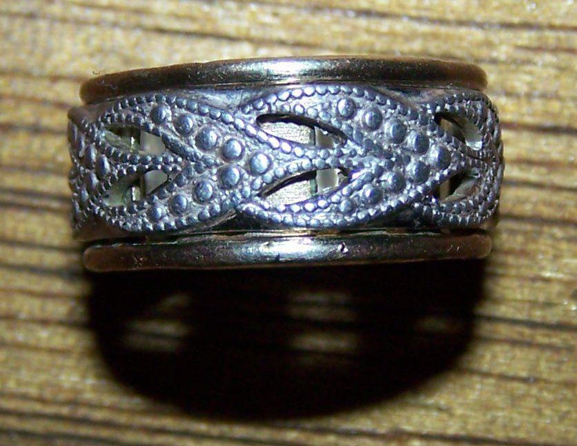 10k G.F. STER. <V> Vargas ring 1947 to 1980's