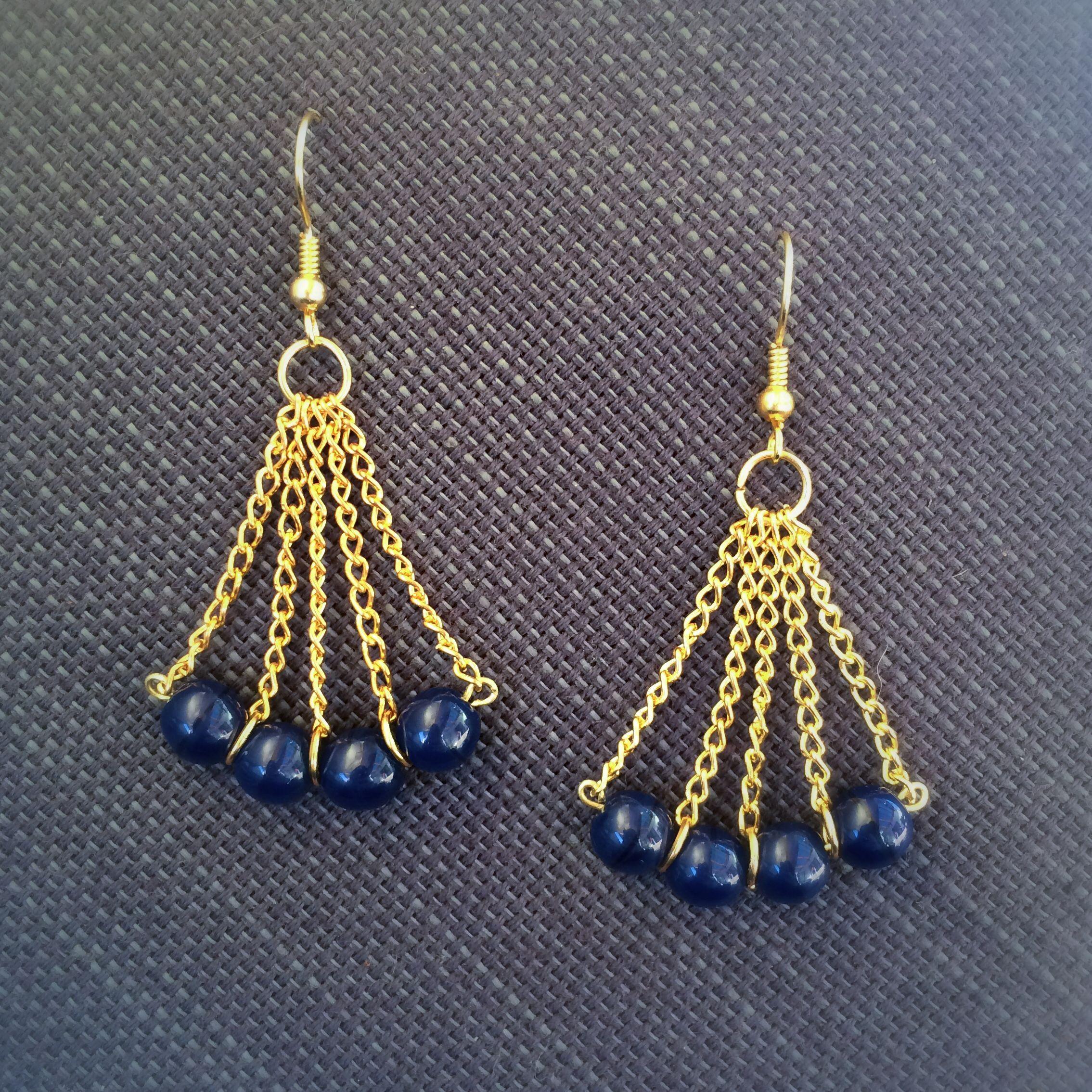 handmade wire jewelry | Beading | Pinterest | Ohrringe machen, Nilam ...