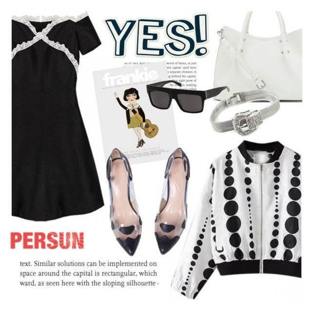 """""""Yes"""" by helenevlacho ❤ liked on Polyvore featuring moda, Vince Camuto e persunmall"""