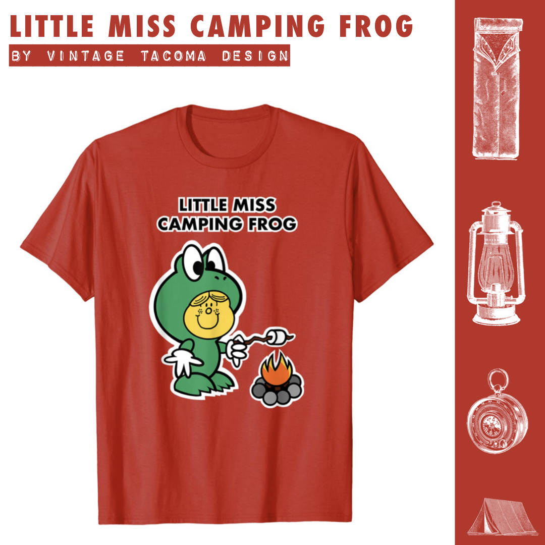 Little Miss Camping Frog T Shirt Frog T Shirts Shirts Later Shirt Spin doctors perform in the music video little miss can't be wrong from the album pocket full of kryptonite recorded for epic records. pinterest