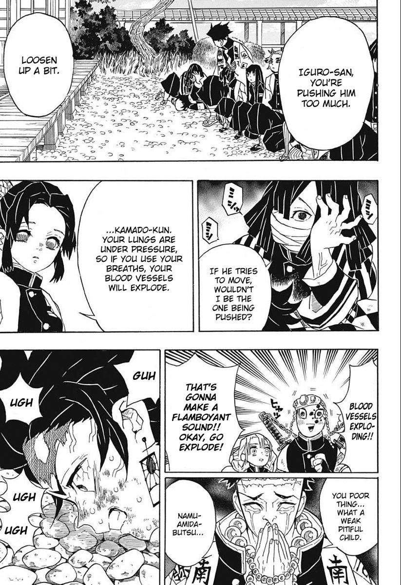 Kimetsu No Yaiba Vol 6 Ch 47 Huff Mangadex Slayer Hunter Name Lone Survivor