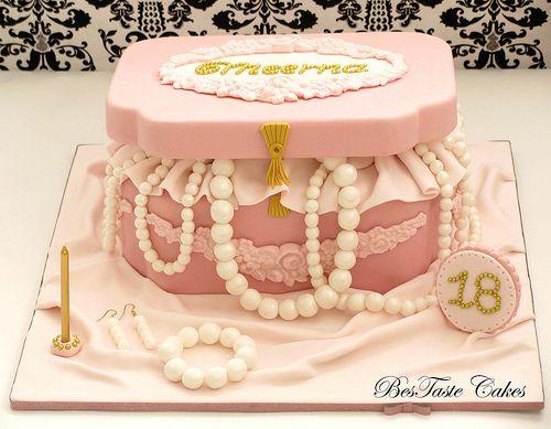 Jewellery box cake Boxed cake Cake and Box