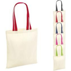 Photo of Wm101c Westford Mill Bag for Life – Contrast Handles Westford Mill