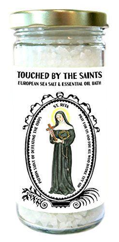 Saint Rita Patron of Defeating the Odds European Sea Essential Oil Lavender Bath Salts Touched By The Saints http://www.amazon.com/dp/B013NXQ0TA/ref=cm_sw_r_pi_dp_R.cYvb15AM7JM
