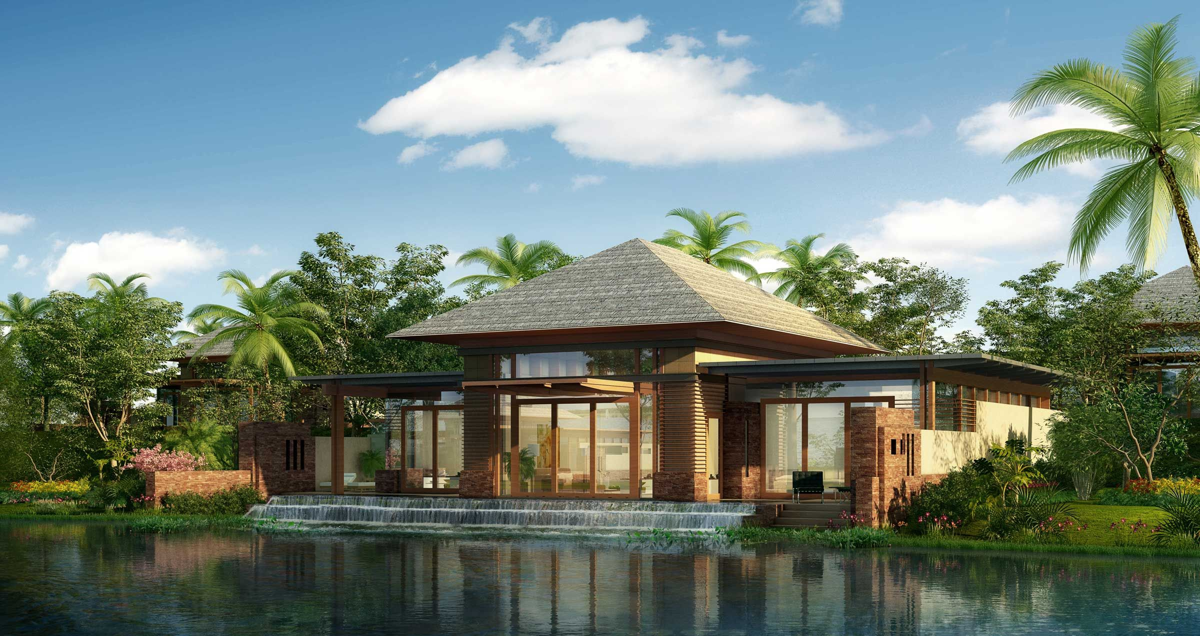 Tropical resort design concept google search resort ideas pinterest villas luxury and for House design concept