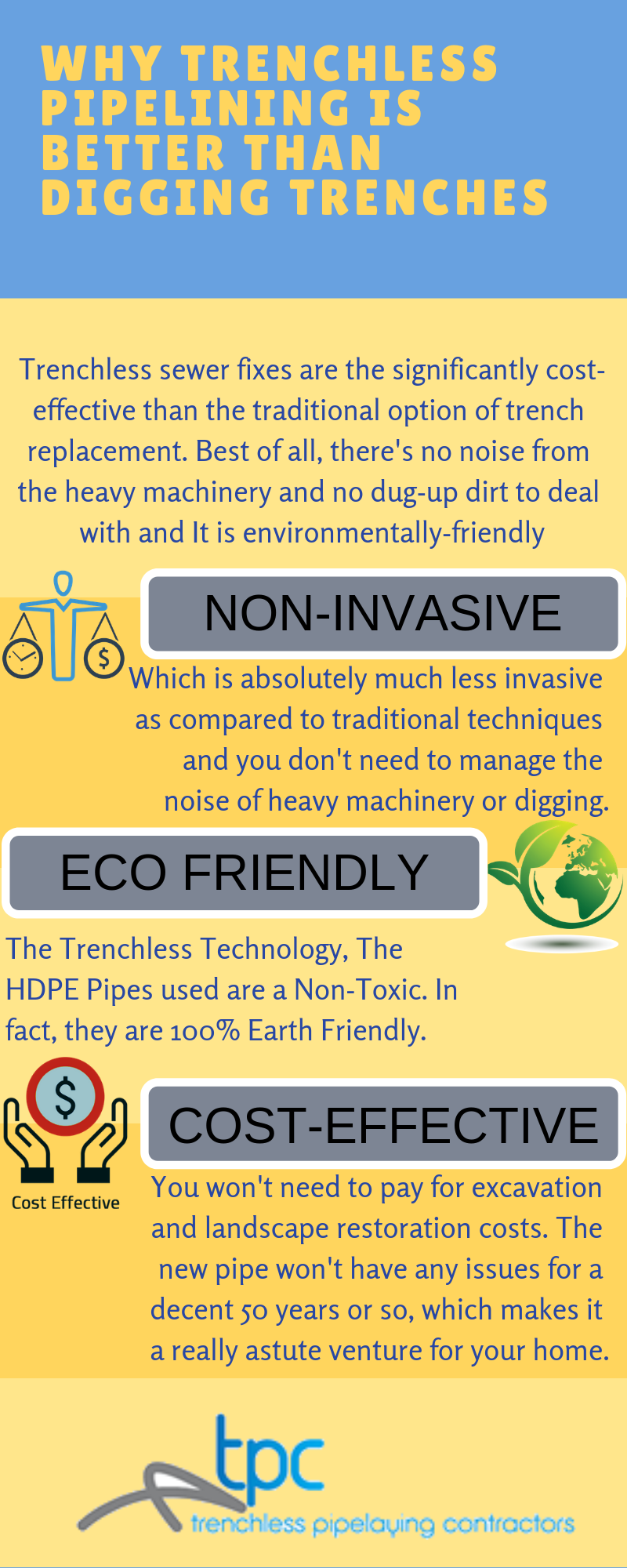 Why Trenchless Pipelining Is Better Than Digging Trenches Dig Good Things Dug Up