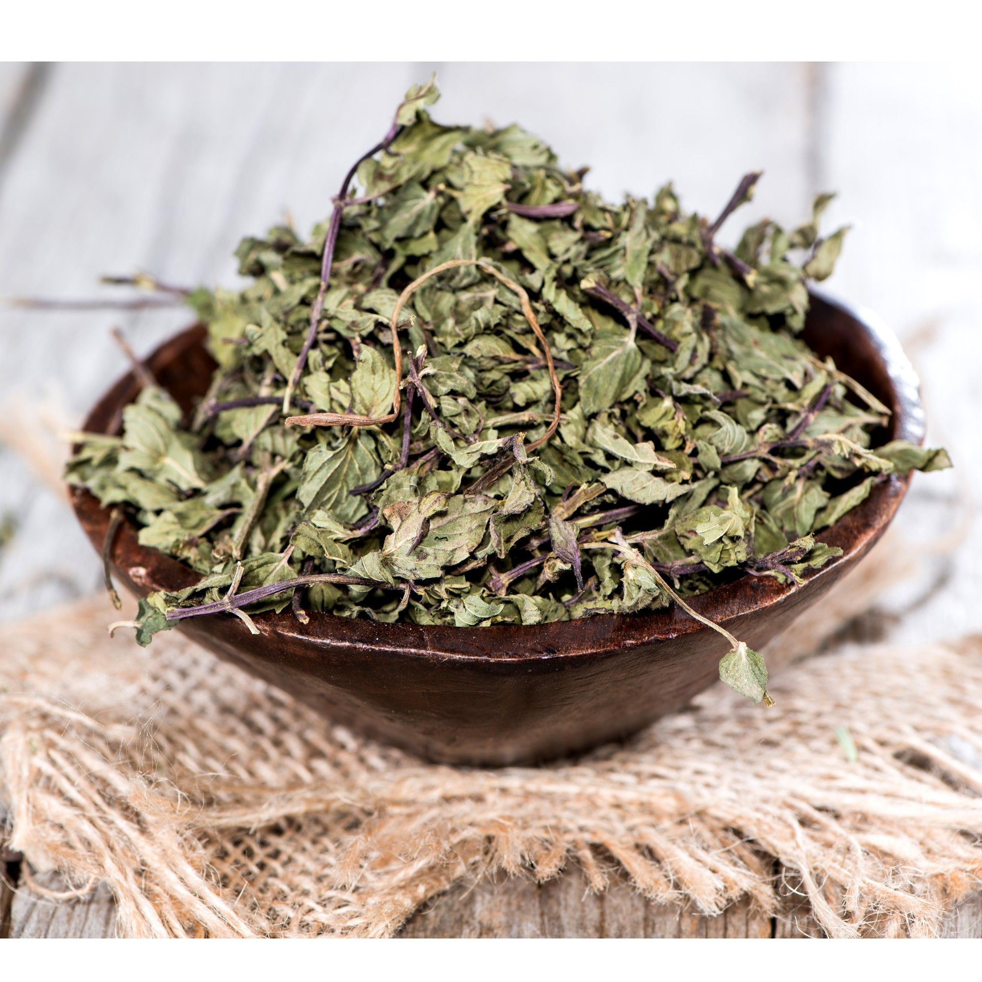 how to make peppermint tea from dried leaves