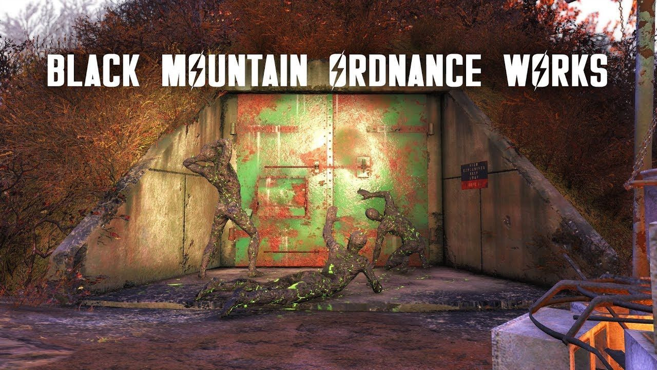 Black Mountain Ordnance Works What S Inside The Domes Tnt Dome Keys 2 3 7 Fallout 76 Lore Black Mountain Dome Fallout