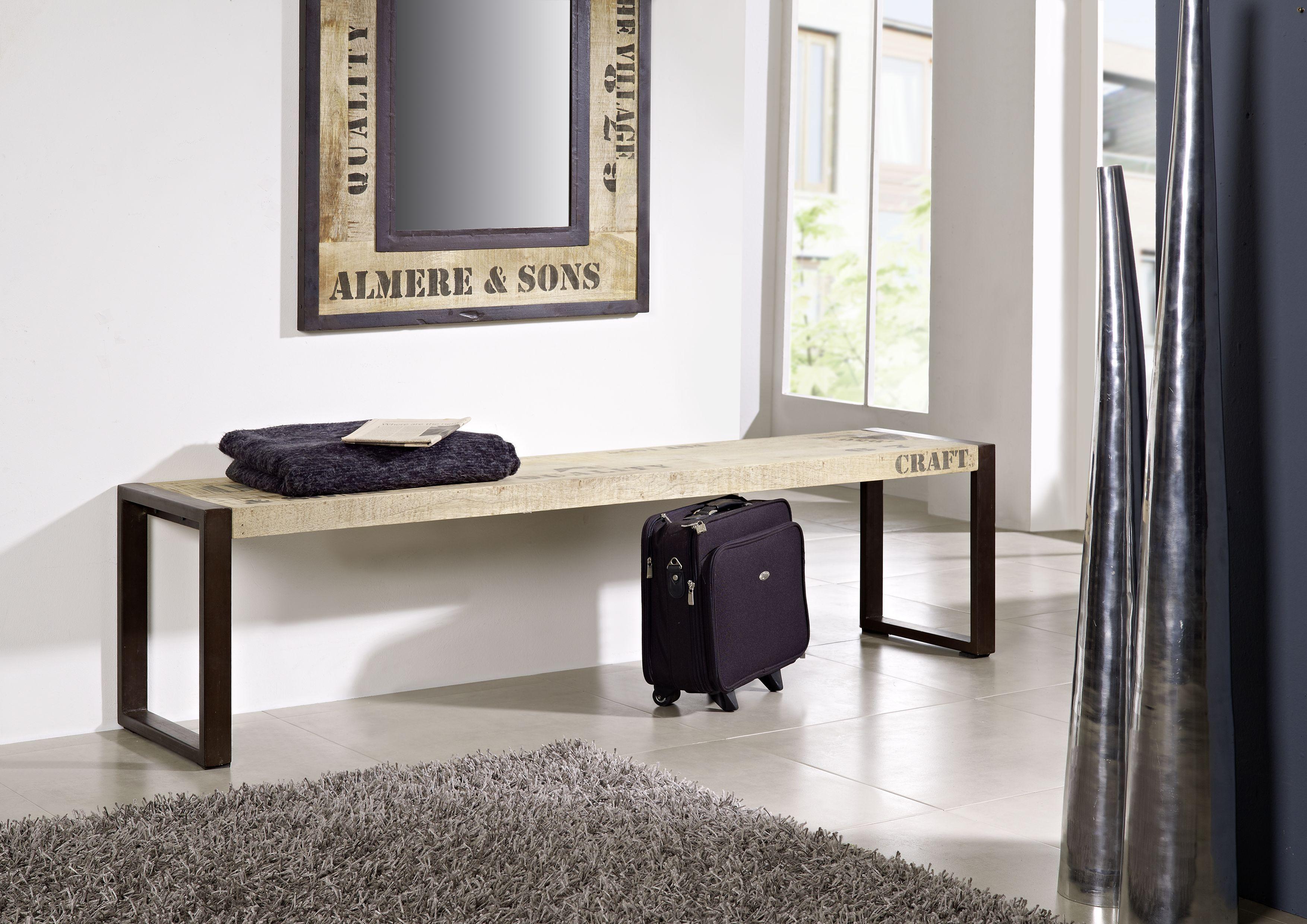 Erstaunlich Industrial Look Möbel Dekoration Von Cooles Design Aus Mangoholz Und Eisen: Die