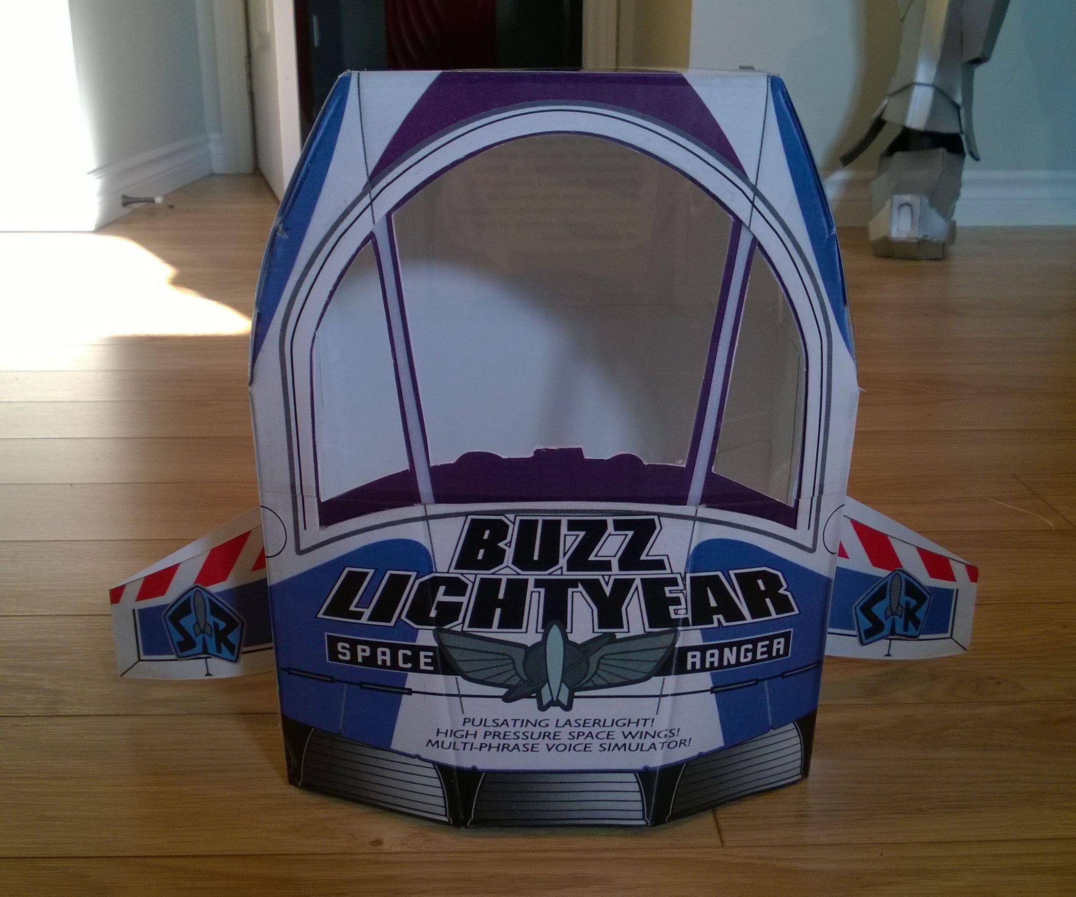 Buzz Lightyears Box Spaceship Tartas De Toy Story