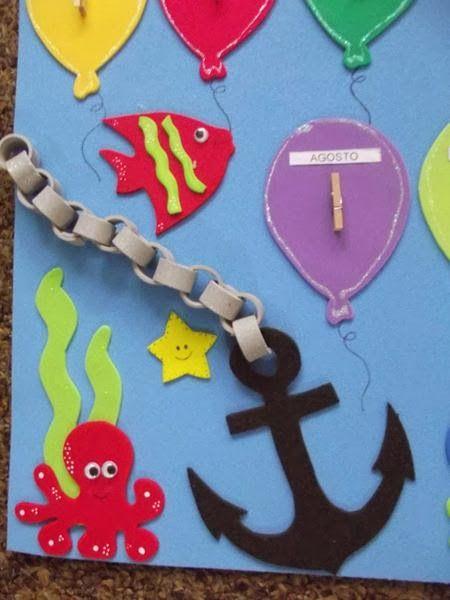 Decora o sala de aula fundo do mar buscar con google for Decoracion de aulas infantiles