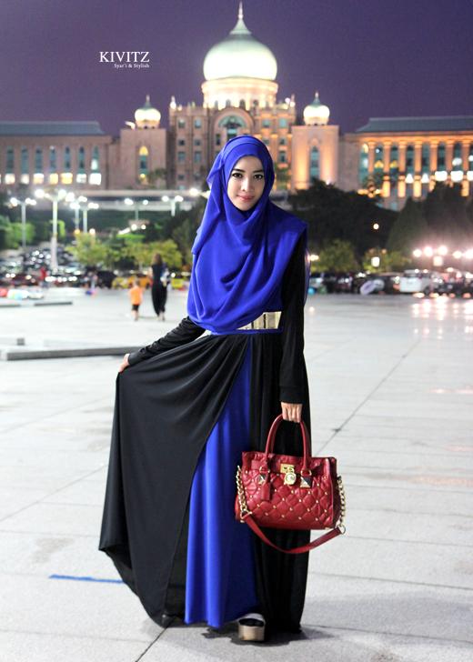 KIVITZ: Glamorous Nylam Dress