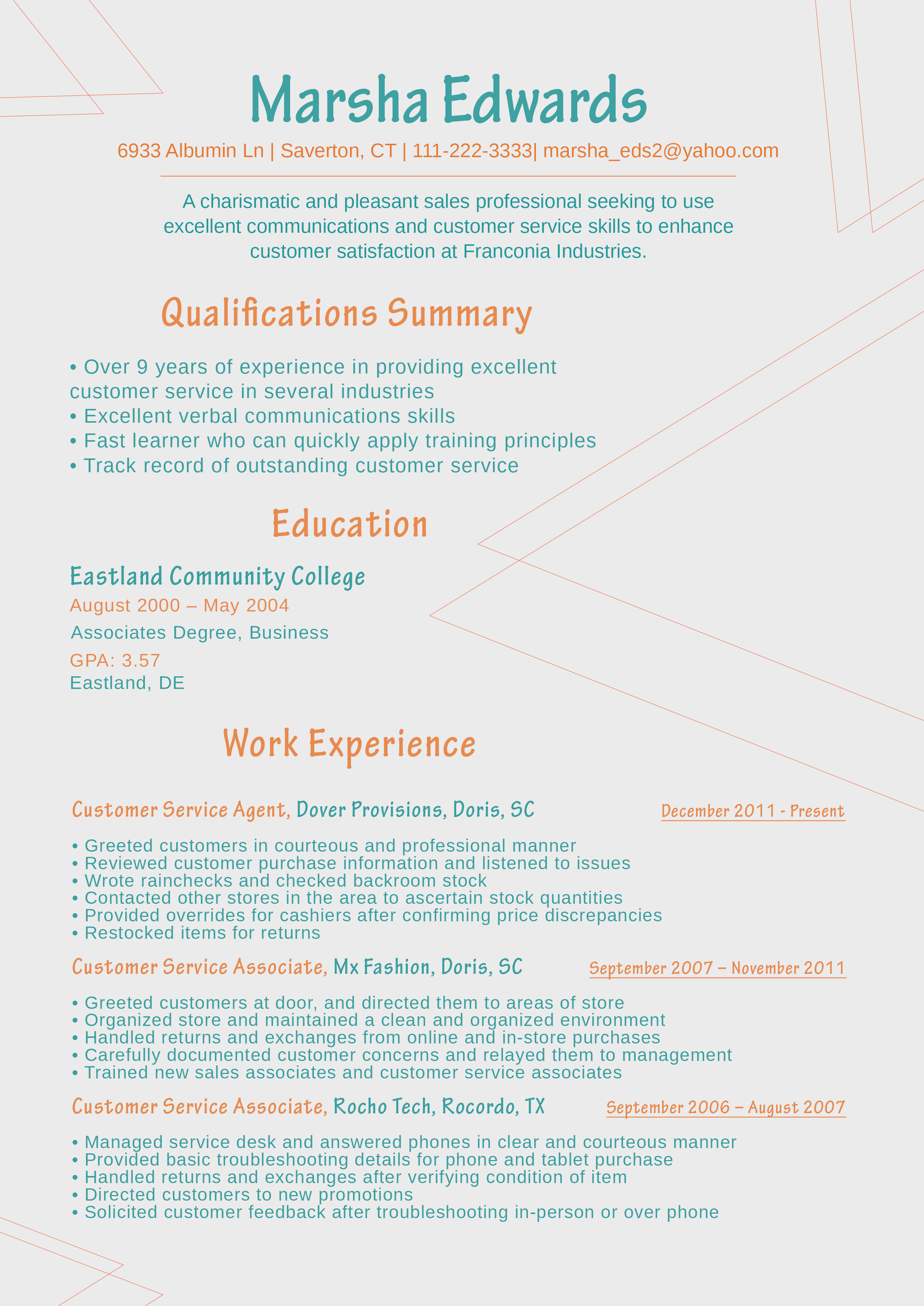Newest Resume Format Sample 2018 Job Search New Resume Format