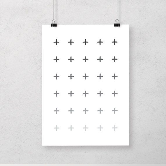 image regarding Printable Cross Pattern called Cross Routine Gradient Scandinavian Print, Printable Cross