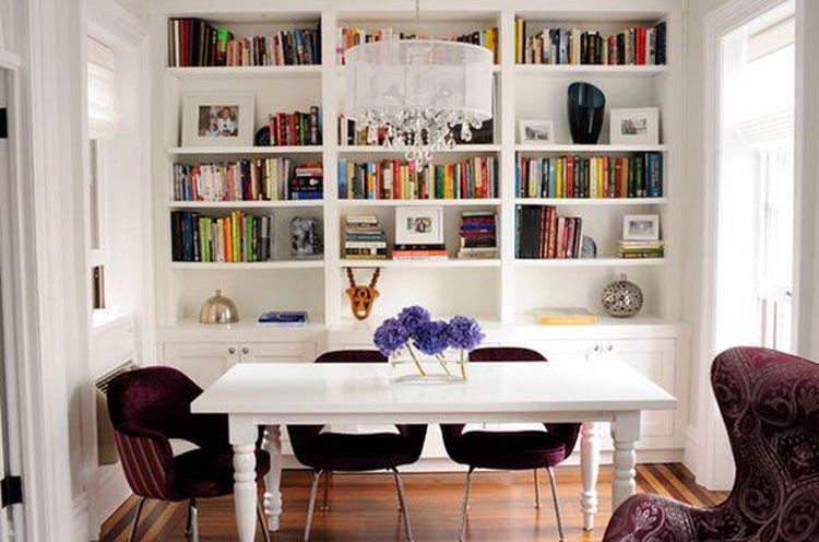 62 Idee Di Design Per Le Librerie Della Vostra Casa Mondodesign It Design Libreria Di Casa Idee Per Decorare La Casa Sala Da Pranzo Mobili