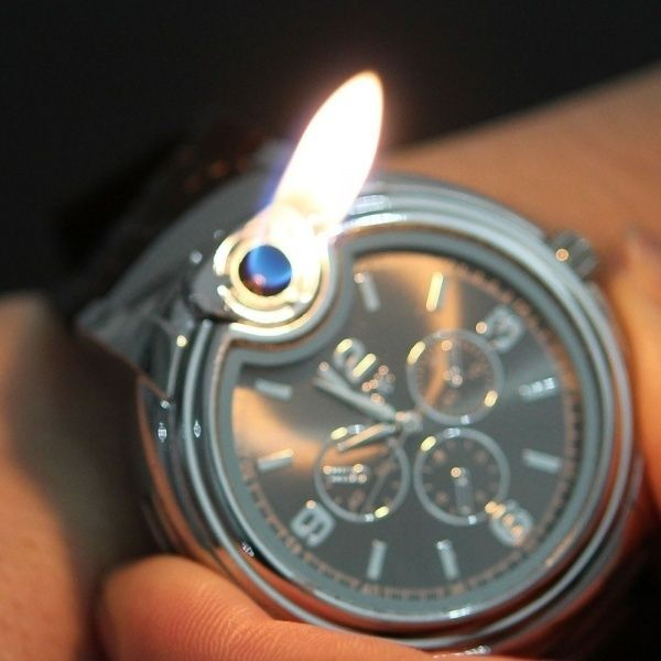 I found 'Watch Shaped Lighter' on Wish, check it out!