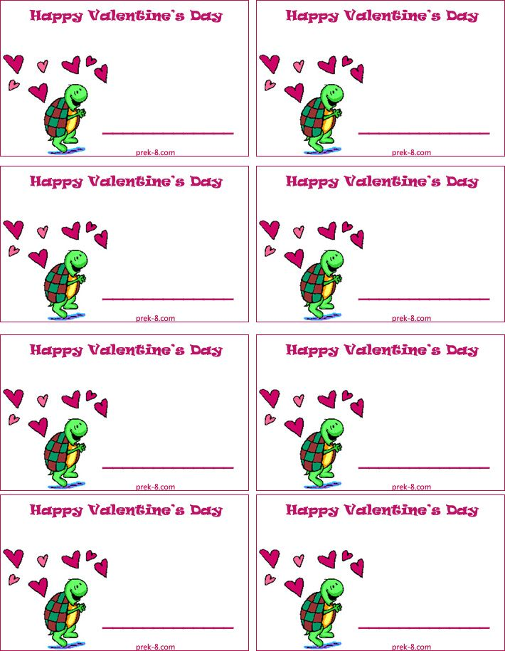 graphic regarding Printable Kid Valentine known as free of charge printable children valentines Valentines working day reputation tags