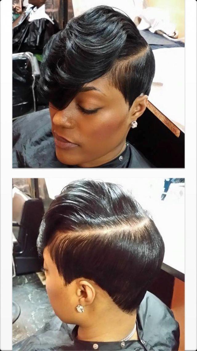Sassy Blackshortgirlhairstyles Short Sassy Haircuts Short Sassy Hair Short Hair Styles Pixie