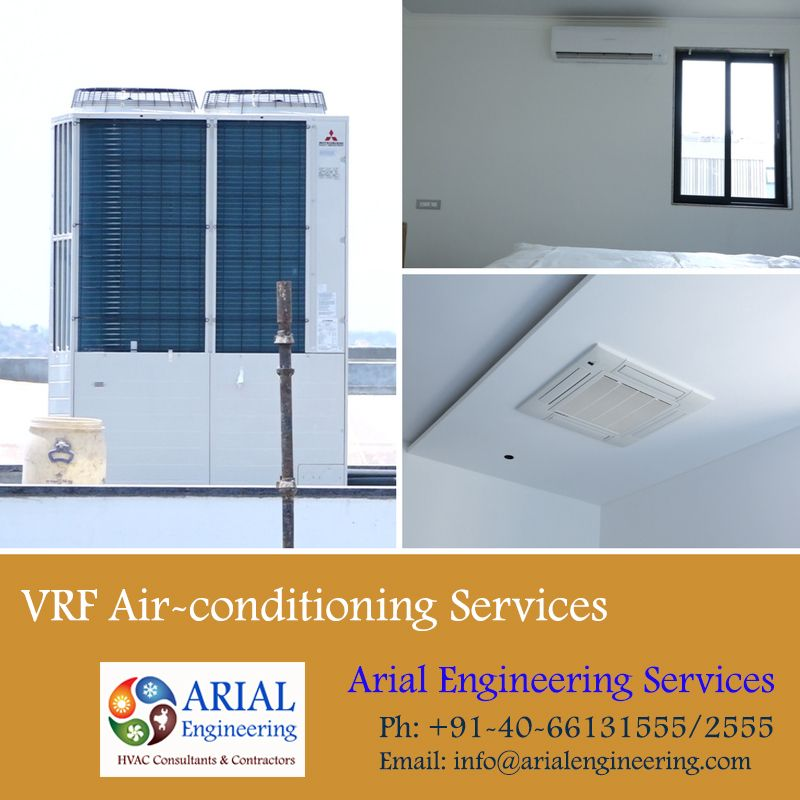 Vrf Air Conditioning Solutions Arial Engineering Services With