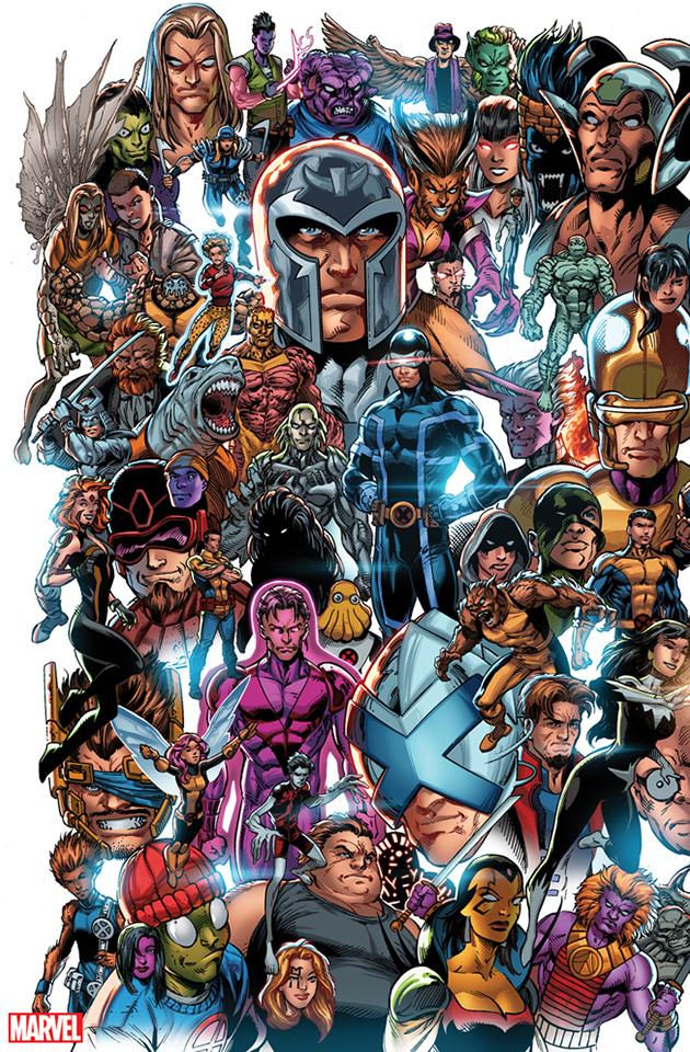 X Men 1 2019 Complete Cover Checklist In 2020 Mark Bagley Bagley Comics