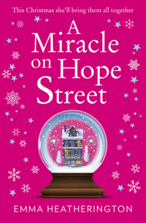 Books Of All Kinds Review A Miracle On Hope Street By Emma Heatherington Holiday Books Christmas Reading Christmas Books
