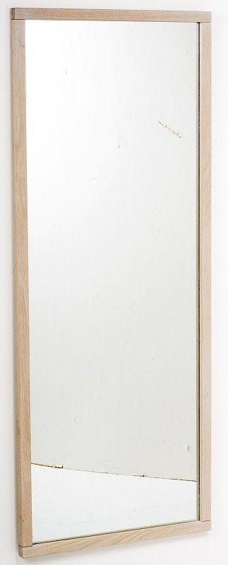 spejl med træramme Belina+Spejl+ +Lys+eg+ +Enkelt+spejl+med+træramme.+Spejl+kan+  spejl med træramme