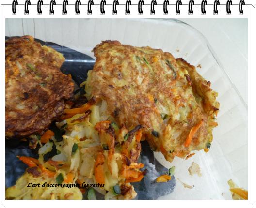 Croquettes de légumes ww - L'art d'accompagner les restes ...