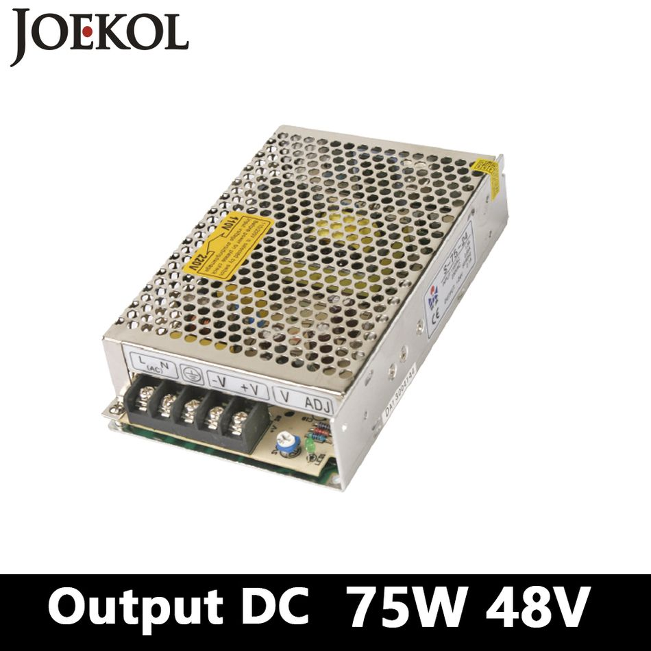 switching power supply,75W 48v 1.5A Single Output ac-dc power ...