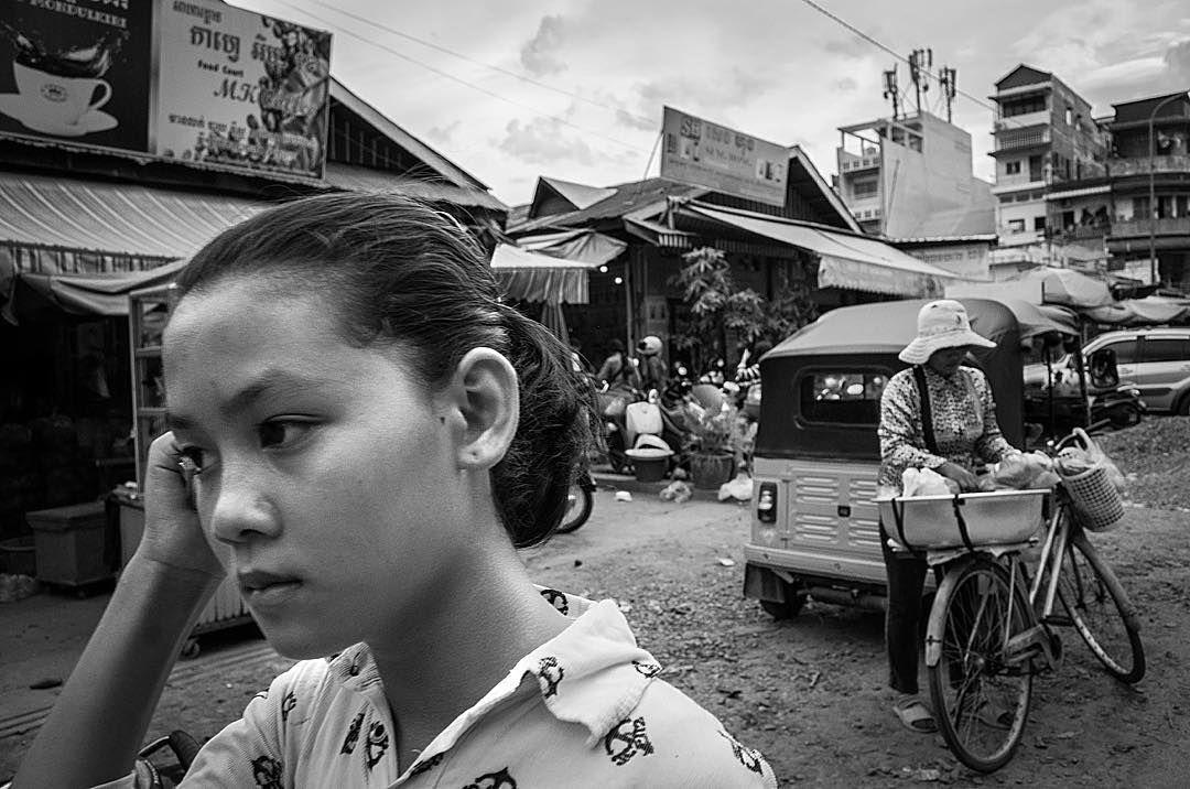 Shots from the Streets: Market Day Phnom Penh  #ricohgr #streetphoto #cambodia