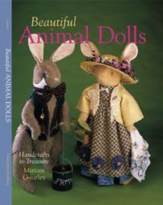 Beautiful Animal Dolls by ABCsolutionnow on Etsy, $5.00