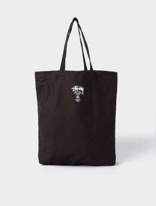 4636737b70 Stussy World Tour SU16 Canvas Tote Bag
