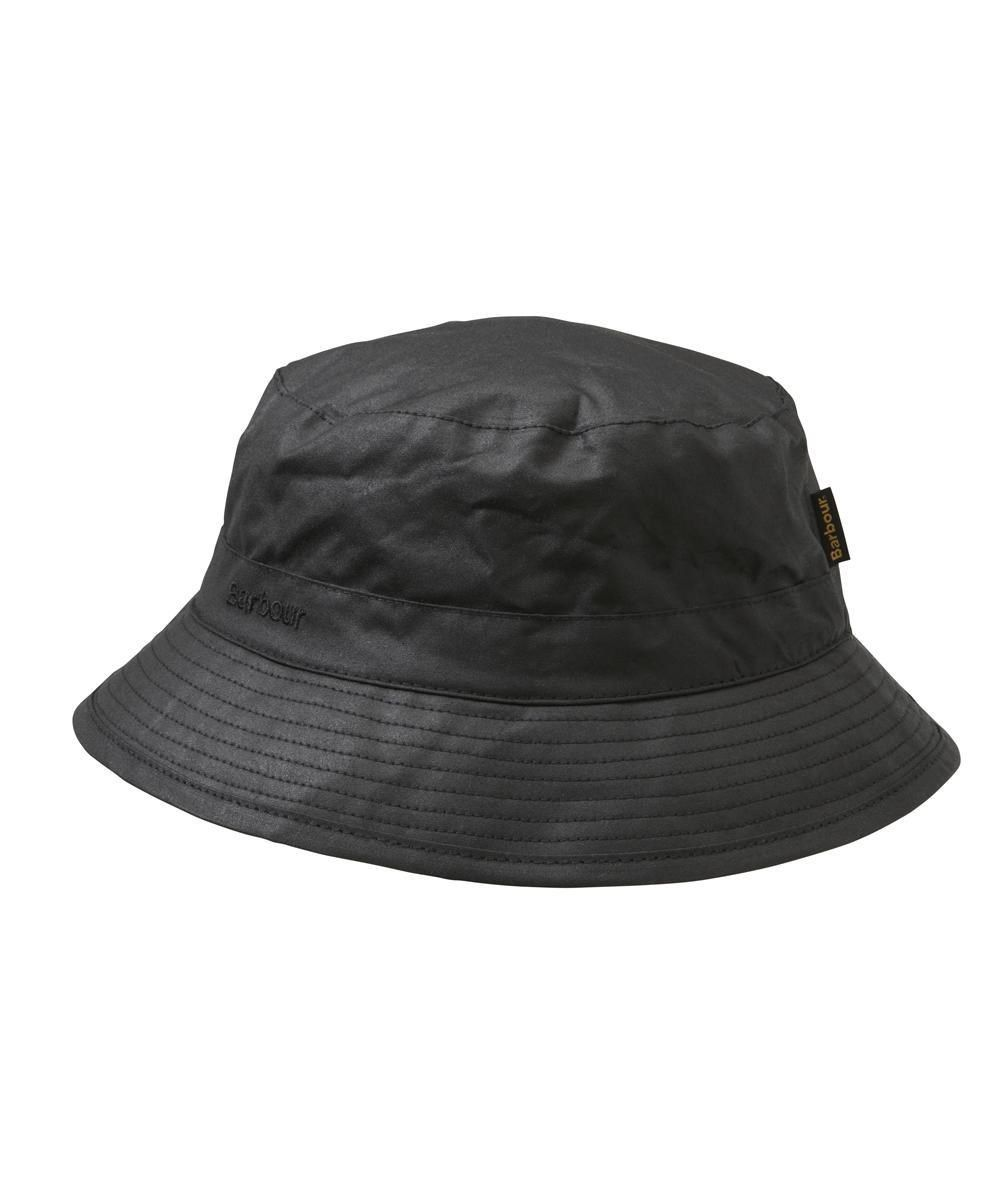 3309a339c90 The Barbour Waxed Sports Hat makes the perfect companion to any and all of  their waxed sporting jackets. The water-resistent outer waxed layer  protects you ...