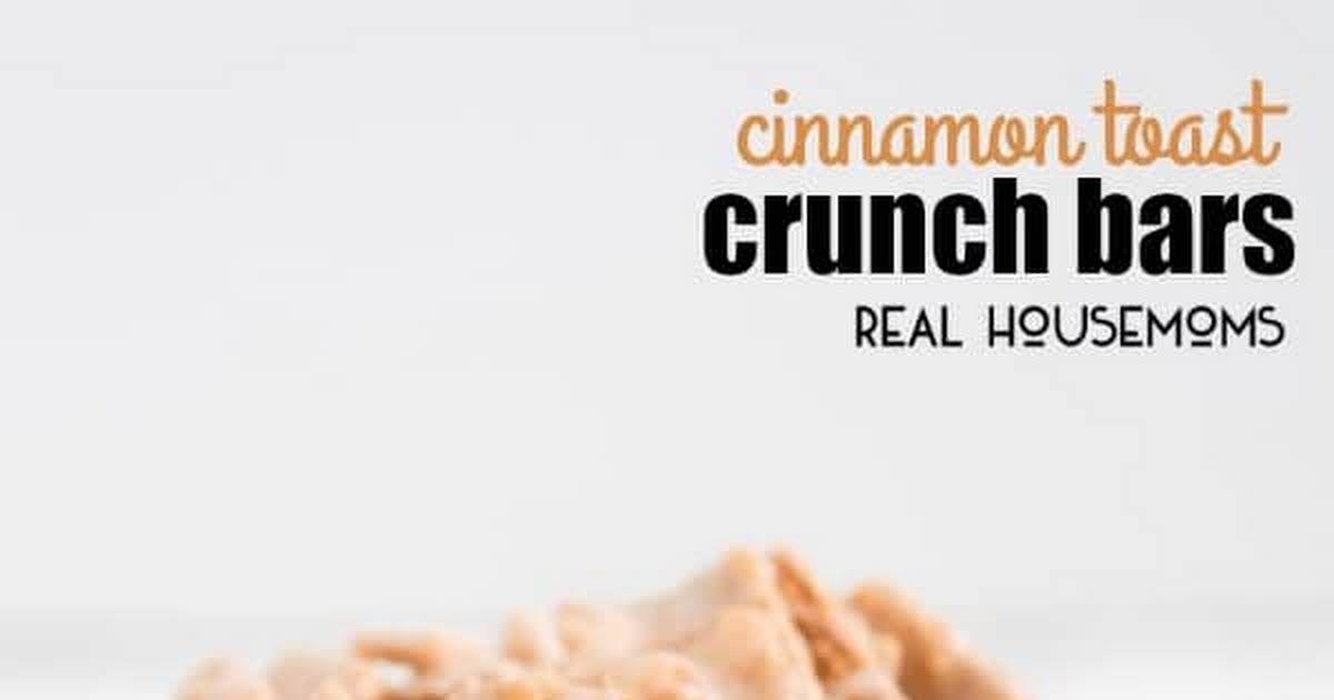 Cinnamon Toast Crunch Bars #cinnamontoastcrunch