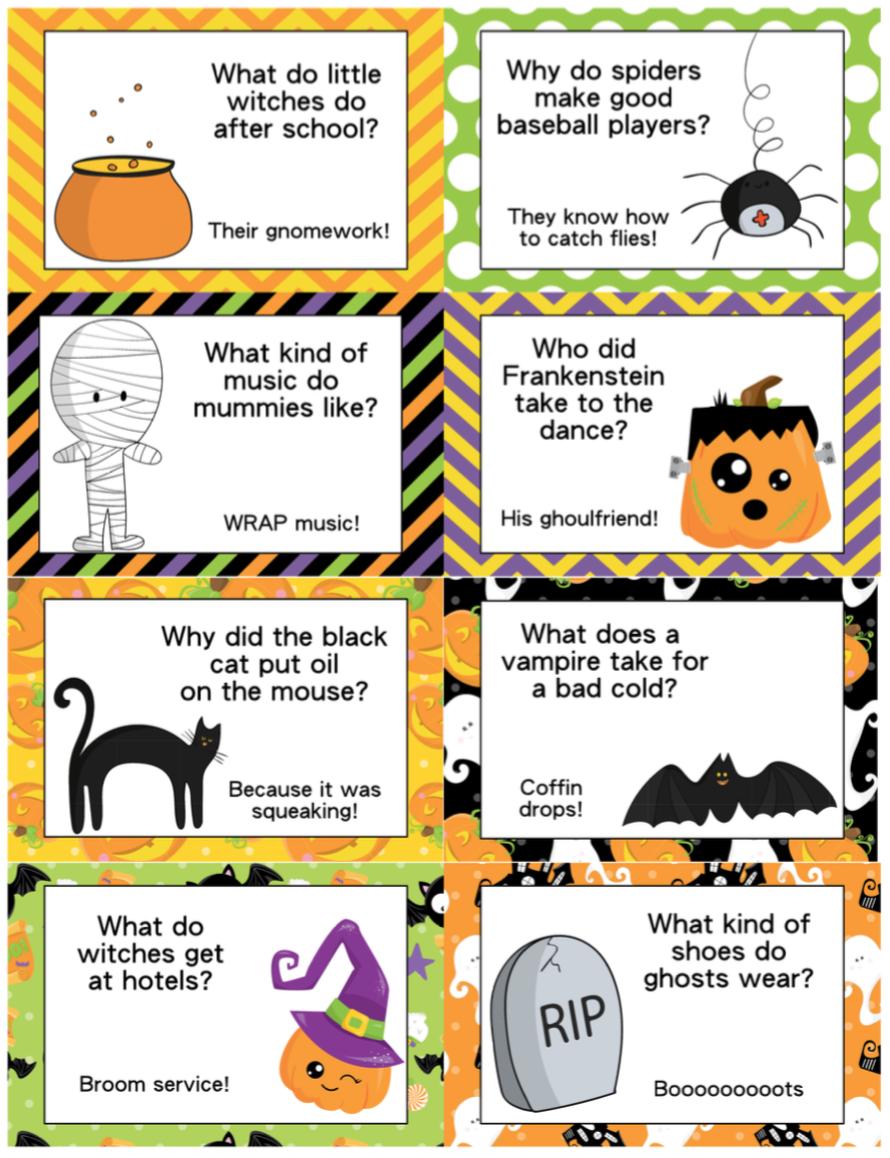 Fun Halloween Jokes for Kids Halloween jokes, Funny
