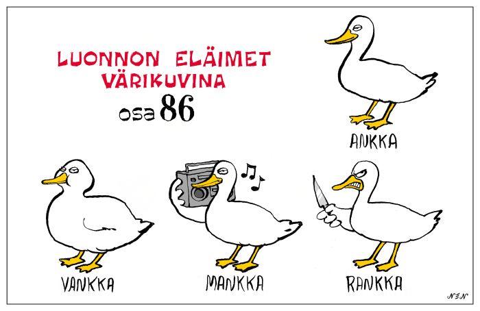 Eläinlajit 86