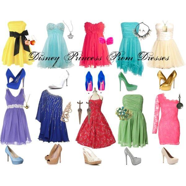 fc98d42dfb6 Disney Princess Prom Dresses - Short by callmeunwritten on Polyvore  featuring Forever Unique