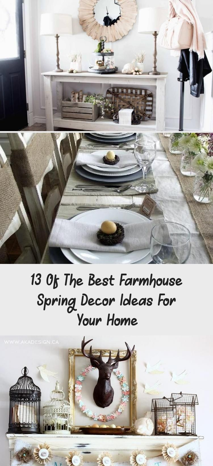 13 Of The Best Farmhouse Spring Decor Ideas For Your Home 13 of the Best Farmhouse Spring Decor Ideas for Your Home