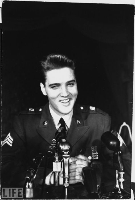 Elvis Presley....and that smile.
