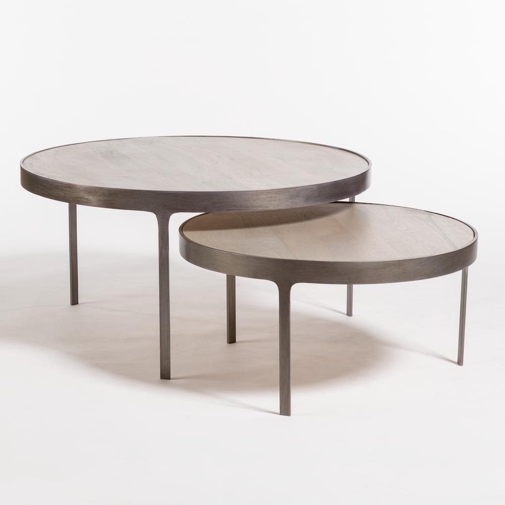 Coffee Tables Alder Tweed Furniture Nesting Coffee Tables Round Nesting Coffee Tables Coffee Table Wood