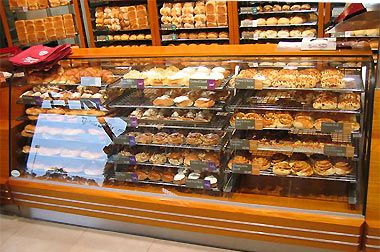commercial doughnut display | Bakery Display Cabinets, Dandenong ...