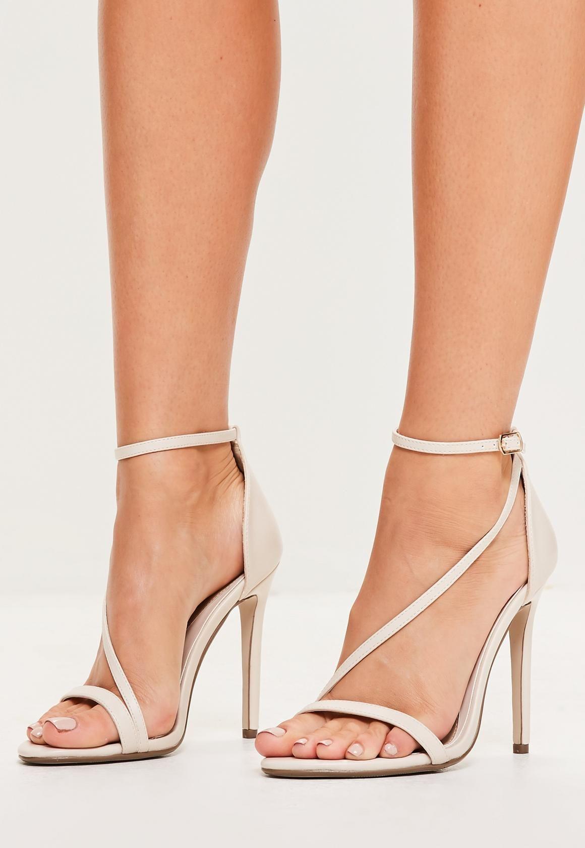 3eb3737c1de476 nude asymmetric barely there heels