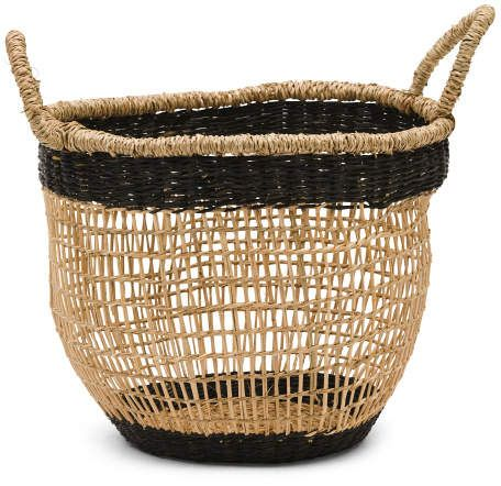 Small Seagrass Basket In 2019 Products Basket Laundry Basket